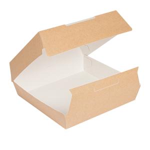 Pudełko lunch box kraft 24x23,5x8,7cm op.50szt. (k/3)