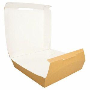 Pudełko lunch box kraft 24x23,5x9cm op. 50 sztuk