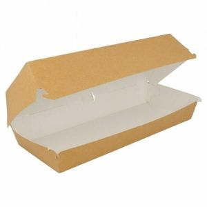 Pudełko panini kraft 26x12x7cm op. 50 sztuk