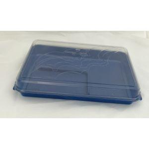 DUNI pudełko lotnicze 1100ml niebieskie rozmiar: 27x19x5cm, cena za opakowanie 160 szt