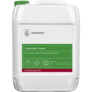 MEDISEPT Quatrodes EXTRA dezynfekcja  5L Koncentrat do dezynfekcji i mycia nieinwazyjnych wyrobów medycznych