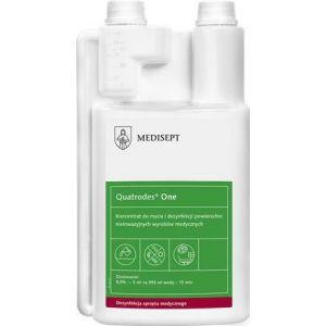 MEDISEPT Quatrodes One 1L Koncentrat do dezynfekcji i mycia nieinwazyjnych wyrobów medycznych