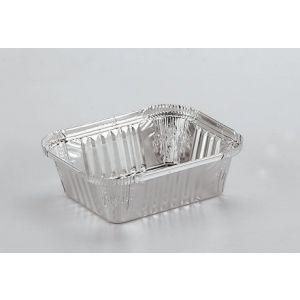Foremka aluminiowa prostokątna R-46 435 ml z możliwością zamykania, cena za opakowanie 100szt