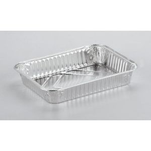 Foremka aluminiowa prostokątna R-50 930 ml, cena za opakowanie 50szt