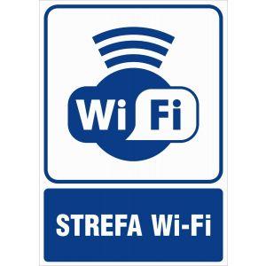 Strefa Wi-Fi BK - 148 x 105mm RB034BKFN