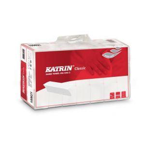 KATRIN Ręcznik Z/Z Classic Handy Pack - czerwony op. 4000 sztuk