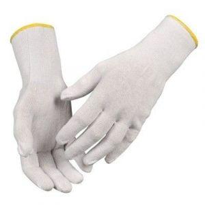 Rękawice bawełniane białe Rozmiar 8 ABENA