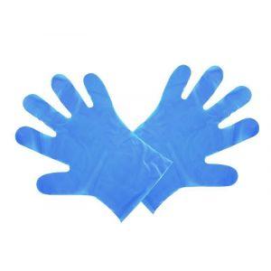 Rękawiczki PLA rozm.M niebieskie VEGWARE 100% biodegradowalne op. 100 sztuk