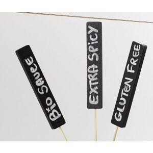 MINI tabliczki kredowe czarne 16,5 cm marker kredowy w komplecie op. 50 sztuk