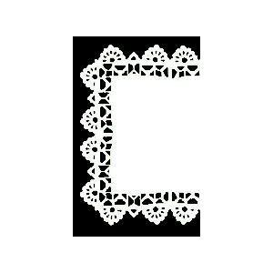 Serwety białe tłuszczoodporne kwadratowe 11x11 cm, cena za op. 250szt