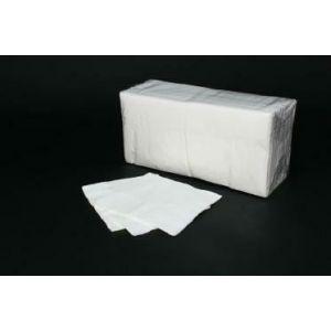 Napkins 24x24 1/4 2W white op. 400 pcs. (k/10)