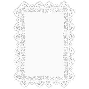 Serwety białe tłuszczoodporne PP pr. 38x25cm (250szt)
