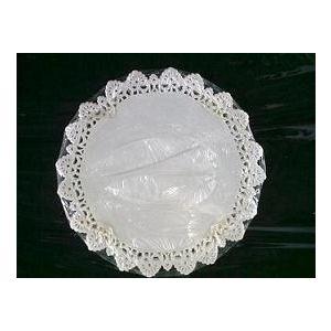 Serwety białe tłuszczoodporne 37 cm, cena za op. 250szt.