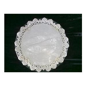 Serwety białe tłuszczoodporne 42 cm, cena za op. 250szt.