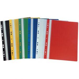 Skoroszyt wpinany A4 SH010 z PCV Biurfol czerwony