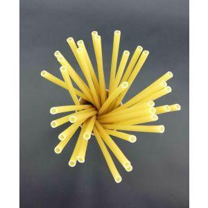 Pasta straws diameter 8 mm length 250 mm, 64pcs, fully biodegradable
