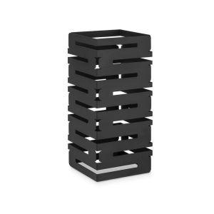 Stojak Skycap z czarnej matowej stali wy