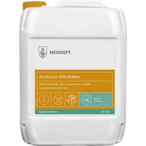 MEDICLEAN MC510 Diament 5l miętowy Płyn do ręcznego mycia naczyń oraz urządzeń i powierzchni kuchennych