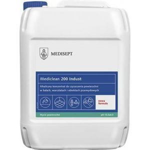 MEDICLEAN MC200 Indust 5L Alkaliczny środek do czyszczenia podłóg, mycie maszynowe i ręczne