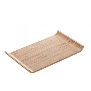 Taca bambusowa Wave 40x26x2,7cm