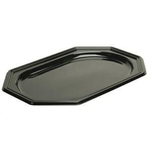 Taca cateringowa PET Sabert 46x30cm czarna op. 10 sztuk
