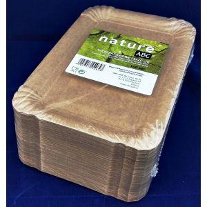 Tacka papierowa brązowa NATURE TnG 13x20cm, cena za opakowanie 100szt