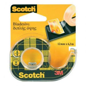 Taśma dwustronna SCOTCH® 136D, 12mm x 6,3m
