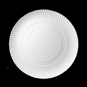 Talerz do pizzy papierowy TnG biały 32 cm gramatura 320g, cena za 100 sztuk