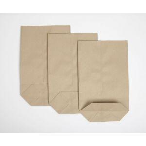 Torby papierowe 15x6x23 szare 0,5kg nr 3 op. 10kg