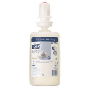 Mydło w piance Tork Premium ekstra delikatne, bezzapachowe 6x1l S4