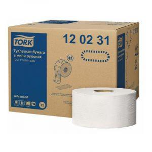 Papier toaletowy TORK Advanced T2 Mini Jumbo 2W op. 12 sztuk