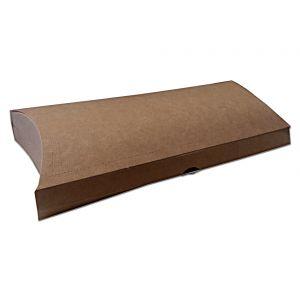 Pudełko BRĄZOWE wrap/tortilla średnie z perforacją, op. 100szt, rozmiar 94x32x210