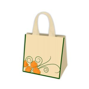 GREENBAG torba PP Tulipany 20L (k/125) 320x220x280mm