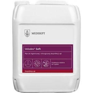 MEDISEPT Velodes Soft 5l płyn do dezynfekcji rąk