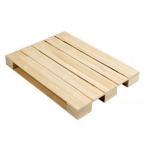 Mini-paleta drewniana 58x38x4,3cm