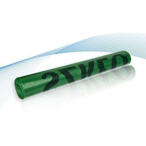 Worki na odp.LDPE 240l S zielone op10szt