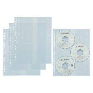 Koszulka na CD-R (do segregatora na 3 CD) 10 szt Biurfol ET19