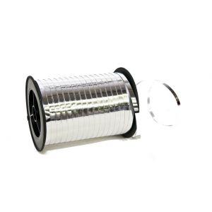 Wstążka 5mm 250yd metaliczna srebrna