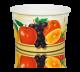 Papierowe kubki do lodów 360ml, nadruk owoce, opakowanie 200szt
