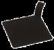 FINGERFOOD - tacka kwadratowa z uchwytem czarna op. 100 sztuk