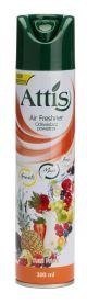 Odświeżacz ATTiS 300ml spray tutti frutti
