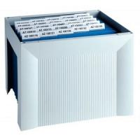 Small Archive File Boxes and Index Card Systems